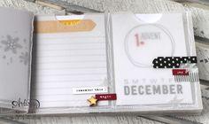 """""""MiniAlbum aus Pergament"""" - Stampin´ Up! Artisan DesignTeam BlogHop 18.12.2014  Detailbild02"""