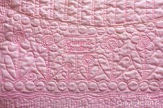 A Whole Cloth Baby Quilt