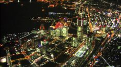 Night View in Yokohama and Kobe