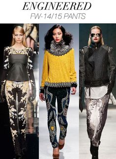 FASHION VIGNETTE: TRENDS // TREND COUNCIL - F/W 14-15 WOMEN'S PRINT AND PATTERN
