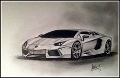 Lamborghini Pencil Drawing is one involving the oldest modes of fine art, which plays a vital role within creating the various other models of art suc. Car Drawing Pencil, Pencil Art Drawings, Car Drawings, Drawing Sketches, Lamborghini Veneno, Lamborghini Diablo, Toyota Supra, Mustang Drawing, Ferrari