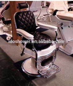 Hair salon styling cadeiras com apoio para os pés / por atacado cadeira de barbeiro