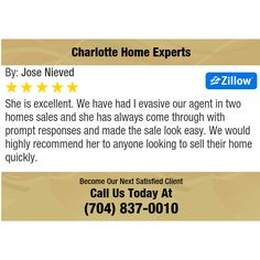 She is excellent. We have had I evasive our agent in two homes sales and she has always...
