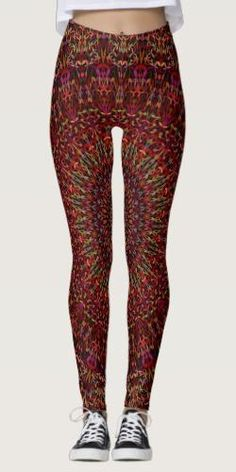 Shop Kaleidoscope Garden Mandala Leggings created by ZyddArt. Bohemian Clothing, Bohemian Style, Fashion Fashion, Womens Fashion, Fashion Design, Wall Tapestries, Apparel Design, Mandala Design, Leggings Fashion