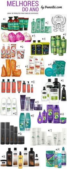 Melhores Linhas de Produtos para Cabelos Cacheados de 2015 Curly Hair Care, Curly Girl, Natural Hair Care, Natural Hair Styles, Long Hair Styles, Beauty Skin, Hair Beauty, How To Make Hair, Make Up