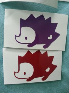 never thought about it before, but maybe I'll get a little hedgehog tattoo