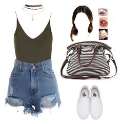 """""""Untitled #1076"""" by sophloveshaz ❤ liked on Polyvore featuring Topshop, Wet Seal, Vans, Forever 21 and Charlotte Tilbury"""
