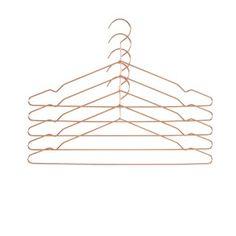 Hay Hang Kleiderbügel Kupfer und schwarz | christofheinze design