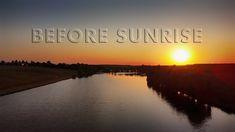 BEFORE SUNRISE Before Sunrise, Different Colors, Places To Visit, Construction, Colours, Sky, Landscape, Beach, Water