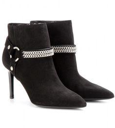 56f53e0602c Paris Suede Ankle Boots - Lyst Black Suede Boots