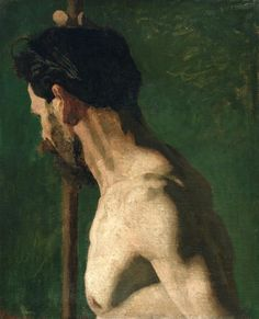 Thomas Eakins, Study of a Nude Man, c. 1869