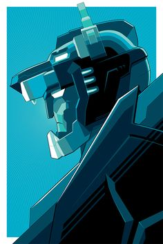 """- Inspired by Voltron: Legendary Defender - Screen Print on Foil Paper - Variant Edition of 100 - Approximately 24"""" x 36"""" DreamWorks Voltron Legendary Defender © 2016 DreamWorks Animation LLC. TM Worl"""