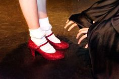 How to make Ruby slippers on dorothy