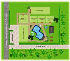 Plans for a Small Resort   Click on small image above to view full size image