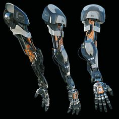 Robotic Arm, Alexey Vasilyev on ArtStation at https://www.artstation.com/artwork/robotic-arm-d8b591b1-47f2-4d42-95dc-1be25a8d2f66