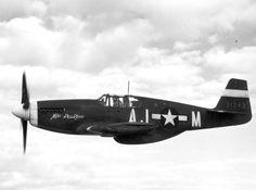 North American P-51 Mustang - Miss Pea