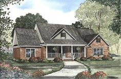 Main image for house plan # 17649  1821