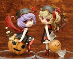 Remilia Scarlet + Flandre Scarlet Special Halloween Party Set $140.00 http://thingsfromjapan.net/remilia-scarlet-flandre-scarlet-special-halloween-party-set/ #touhou figure #Japanese anime figure #anime stuff