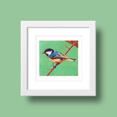 Mees / Henk van de Laar, beeldformaat: 15 x 15 cm, techniek: zeefdruk, www.shop.studiozuidwest9.nl