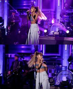 ARIANA GRANDE ON JIMMY FALLON  #KIMILOVEE  #THEWIFE  PLEASE DON'T CHANGE MY CAPTIONS OR YOU'LL BE BLOCKED!