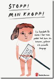 Handboken Stopp! Min kropp! kan läsas direkt, laddas ner som pdf eller beställas gratis!