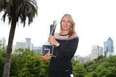 Maria Sharapova commence bien l'année 2015. La Russe s'impose à Brisbane.