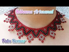 collar de chaquira /Mostacilla en rombos plata - YouTube Beaded Jewelry Patterns, Crochet Patterns, Beads, Youtube, Key Chains, Felted Jewelry, Chokers, Pearls, Jewelry Patterns