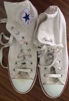 Men's Canvas Converse High Tops Chuck Taylor Size 7 US | eBay