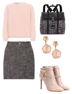 """""""Untitled #573"""" by mchlap on Polyvore featuring 10 Crosby Derek Lam, Prada, Henri Bendel, Valentino and Pasquale Bruni"""