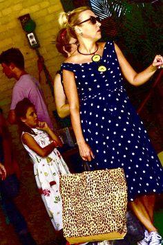 Unrelated Persons. Piedmont Street Festival. Polka Dot Top, Street, Vintage, Tops, Women, Fashion, Moda, Fashion Styles, Vintage Comics