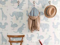 Wallpaper para quarto de criança - papel de parede