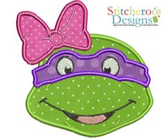 Girly Ninja turtle but without the bow. That's just not right!