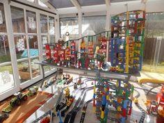 14 Level - XXL Lego Duplo Train - Amazing Big City - Lego Duplo Eisenbahn - HD - must see - YouTube Lego Duplo Train, City, Amazing, Youtube, Locomotive, Youtubers, Cities