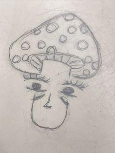 Indie Drawings, Trippy Drawings, Psychedelic Drawings, Art Drawings Sketches Simple, Easy Simple Drawings, Weird Drawings, Drawing Ideas, Arte Grunge, Grunge Art