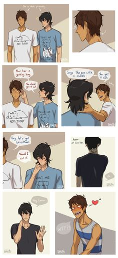 Lance and Keith Also reminds me of that one WTNV ep where Carlos gets his perfect perfect hair cut.