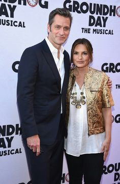 Peter and Mariska at opening night of Groundhog Day The Musical - April 17th, 2017