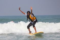 First-hand account of Varkala's surfing project.