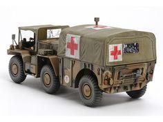 Tamiya 1/35 US 6x6 M792 Gamma Goat Ambulance Truck # 35342
