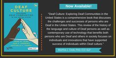 How does Deaf culture fit into education, psychology, cultural studies, technology and the arts in the U. Find out in this new book - now available! Cultural Studies, Deaf Culture, New Books, Psychology, Public, Language, Challenges, United States, Study