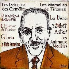 Francis Poulenc - the French composer in a nutshell Francis Poulenc, Classical Music Composers, Music Images, In A Nutshell, Fun Facts, French, History, Caricatures, Opera