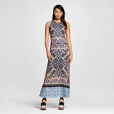 Women's Scarf Printed Maxi Dress - Dream Daily by Clover Canyon