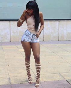 "blackandkillingit: "" BGKI - the #1 website to view fashionable & stylish black girls shopBGKI today """