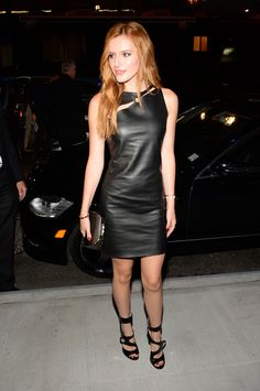 Bella Thorne attends Versus Versace fashion show