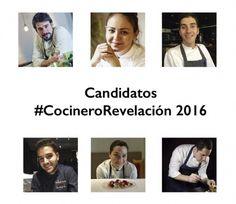 Cocinero Revelación Madrid Fusión 2016. Nominados