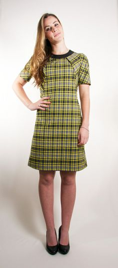 Check Dress - www.janellehinch.co.nz 'The Lucky Ones' Winter/Spring Collection from Janelle Hinch