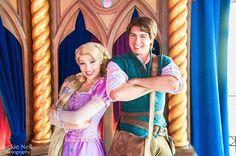Rapunzel & Flynn Rider