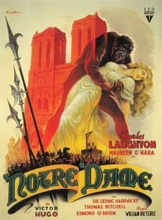 The Hunchback of Notre Dame - William Dieterle - 1939 - Spanish poster