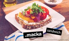 Food & Drink - macka - sandwich