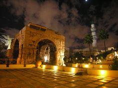 marcus aurelius arch in tripoli