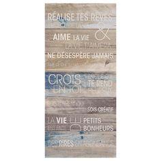 Tableau - Réalise tes rêves/Tableaux cadres/Décor mural|Bouclair.com